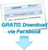 Gratis Excel kasblad Download via Facebook